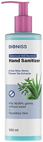 BIONISS Semi Gel Hand Sanitizer (500ml)