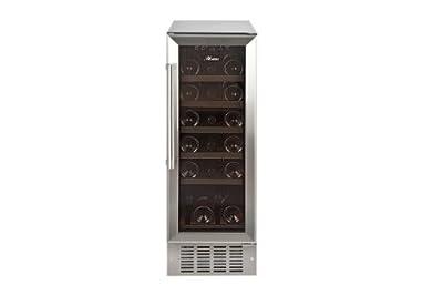 Hostess HW19MA 19-Bottle Wine Cabinet by Crosslee