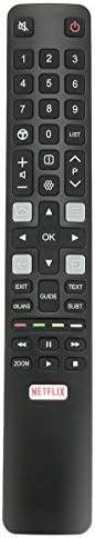 Allimity Remote Control RC802N YUI1 ARC802N for TCL TV (06-IRPT45-ARC802N)