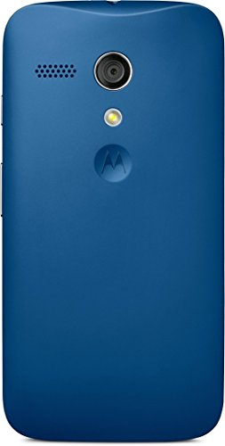 Motorola Color Clip-On Shell Hülle Schale Case Cover für Moto G Smartphone - Blau