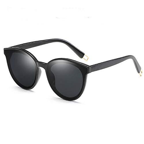 GJYANJING Sonnenbrille Zukunft Mode Frauen Farbe Luxus Flat Top Cat Eye Sonnenbrille Sunglassesl Männer Twin Beam Sonnenbrille Legierung Rahmen Uv400