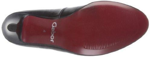 Gabor Shoes 6521037, Scarpe col tacco donna Nero (Schwarz (schwarz (lfs rot)))
