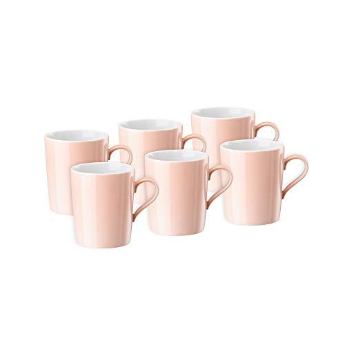 Arzberg Tric Soft Rose Kaffeebecher-Set 6tlg. - Arzberg Set