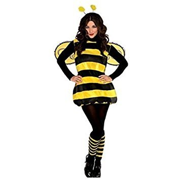 Womens Costume Party Animal - Déguisement adulte - Abeille - Taille
