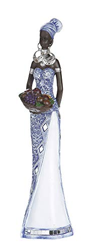 Dreamlight Escultura Moderna Figura Deco Mujer Africana