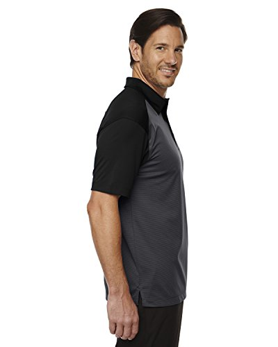 Ash City Symmetrie Herren UTK cool-logik Kaffee Performance Polo Shirt BLACK 703
