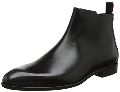 HUGO Herren Appeal_Zipb_BO Klassische Stiefel, Schwarz (Black), 44.5 EU (Amazon Stiefel Von Schwarze)