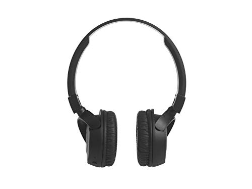 (Renewed) JBL T460BT Extra Bass Wireless on-Ear Headphones with Mic (Black) Image 2