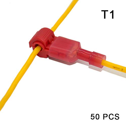 Feeilty Kabelverbinder, Kabelschuhe, Crimp Scotch Lock Quick Spllice Elektrisches Set, 20 Stück (Scotch-lock-kit)