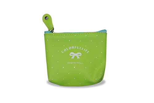 Monedero de Silicona–Candy Series Verde Verde