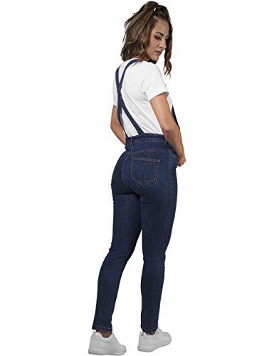 Urban Classics Femme Combinaisons Jumpsuits / Ensembles mode Tiana bleu foncé