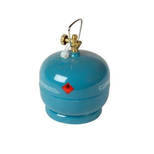 VITKOVICE MILMET S.A 2kg/4,8L Leere befüllbare Gasflasche Propan Butan Grill Camping Gaskocher
