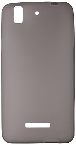GoRogue Frosted Glowing Ultra Slim Soft Flexible TPU Back Case Cover For Micromax YU Yureka AQ5510 (Smoke)  available at amazon for Rs.149