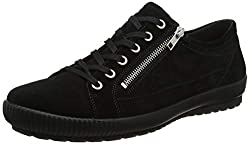 Legero Damen Tanaro Sneaker, Schwarz (Black 00), 39 EU