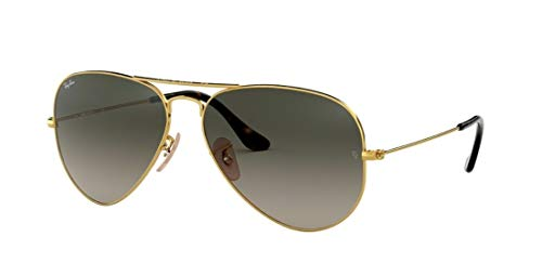 Ray Ban RB3025 181/71 58M Gold/Light Gray Gradient Dark Gray Aviator