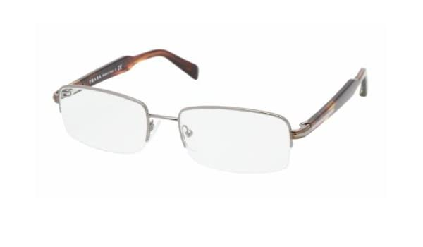 246d37658a Prada Vpr 58N Rwx-1O1 Gunmetal Havana Eyeglasses  Amazon.co.uk  Health    Personal Care
