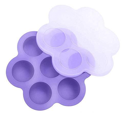 Aufbewahrung von Babynahrung, Silikon Ei Bites Formen für Instant Pot Zubehör - passend für Instant Pot 5,6,8 QT Schnellkochtopf, wiederverwendbar Container