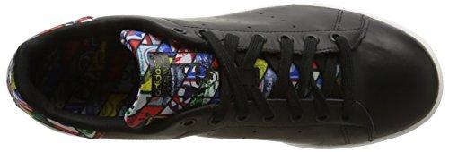 adidas Stan Smith, Baskets Basses Homme Multicolore (Core Black/Ftwr White)