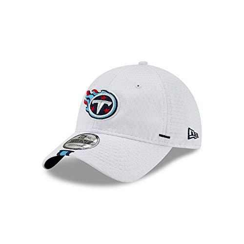 New Era 9TWENTY Cap Sideline Onfield Training 2019 White, alle NFL-Teams (Tennessee Titans)