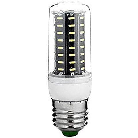 CJWCL Caldo bianco/Leng Baiguang 8W LED candela lampada frigo letto c , white