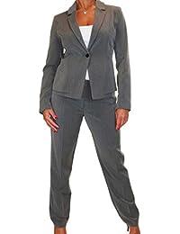ICE Giacca da Donna con Pantaloni Completa per Ufficio o Azienda 42 a 52 26acfe188bd