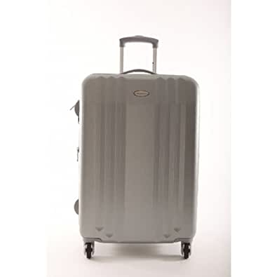 Snowball - Snowball valise rigide extensible Carbon Robust 65cm argent -