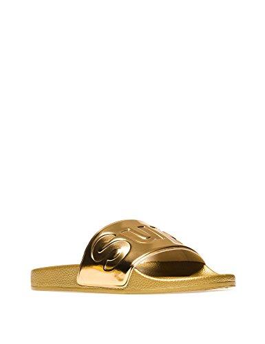 Superga Slides Metallic, Mocassini Unisex – Adulto Oro (gold)