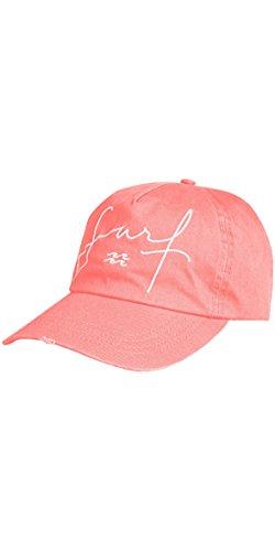 BILLABONG Surf Trucker Cap Mütze Neon Peach - Twill Trucker Mütze mit Stickerei - Stone wash -