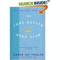 Book cover for The Jane Austen Book Club
