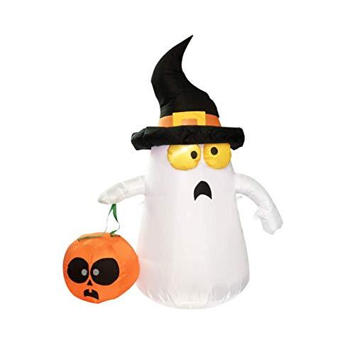 QIAO Halloween Veranstaltungsort Layout Requisiten Halloween Kleiner Geist aufblasbares aufblasbares Modell (Kinder Transformatoren Kostüm)