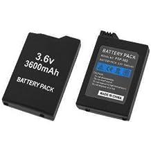 Neotechs® - Batería de 3600 mAh para PSP Sony 1000 Fat 1003 1004 PSP1000