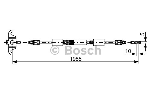 Bosch 1 987 482 128 Parking/Handbremsseil