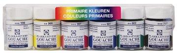 Talens Gouache Extra Fine–Témperas de 6varios colores (S)