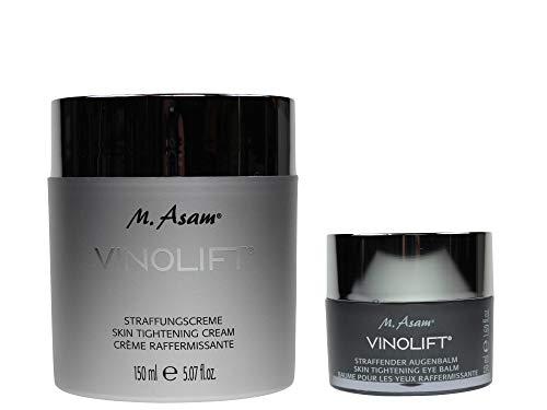 M. Asam® Vinolift® Straffungscreme - 150ml + Straffender Augenbalm 50ml