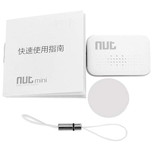 Kongqiabona Für NUT Mini F6 Smart Tag Fliesen Tracker Schlüsselfinder Locator Anti Fund Alarm FÜR Sicherheit (Tracker Fliesen-key)