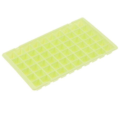Silikon Eiswürfelschale 60 Würfel Küche Bar Werkzeuge Haushaltsgeräte Gelee Würfel Schimmel Tablett Hirolan Eiswürfelformen aus Silikon Eiswürfel Box Whiskyquadrate Eiswürfelbereiter ()