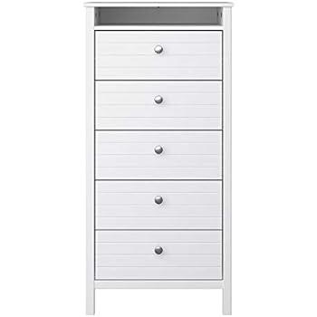 HEMNES IKEA Kommode mit 6 Schubladen; in weiß; (108x131cm