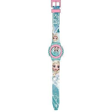 Disney – Die Eiskönigin – Völlig unverfroren – Elsa – Armbanduhr mit LCD Bildschirm