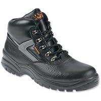 Brand New. Sterling lavoro ad alta visibilità MIDI stivali steel-toe shock e resistente al calore nero taglia 7rif SS601SM7