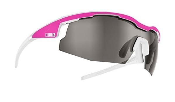 BLIZ SPRINT extérieur sport cyclisme vélo équitation Athlétisme uv-protection Lunettes de soleil - mat NEO Rose / Brillant Blanc, One Size