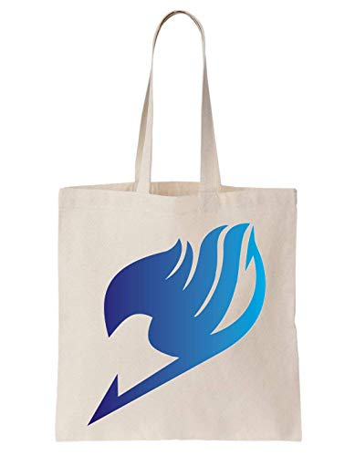 PasTomka Fairy Tail Blue Gradient Schultertasche Tote Bag
