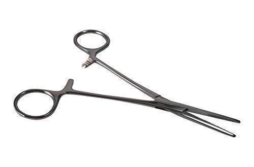 INKgrafiX® Klemmzange zum Halten - Piercing Zange - Stahl - Arterienklemme - IG24466