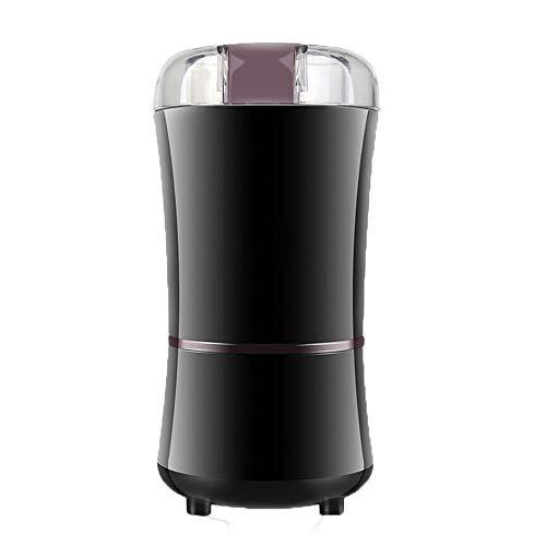 Elektrische Mini-Grinder Hause Elektrische Kaffeebohnen Pulverisierung Maschine Gewürz Und Kaffeemühle Mit Edelstahl-Klinge, Schwarz