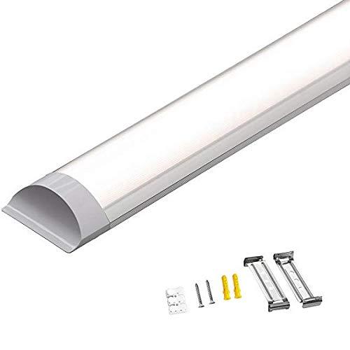 Specilights 50W LED Deckenleuchte LED Röhren Lineare Lampe 150CM Neutralweiß 4000K [Energieklasse A++] 120° Weitwinkelstrahl Inklusive Montagehalterungen und Schrauben