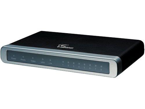 GRANDSTREAM GXW-4008 Gateway/Analoges Gateway mit 8 FXS- Teilnehmer Ports / 2 SIP Accounts/Unterstuetzt T.38 Fax -