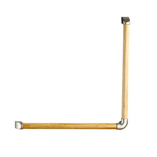 Bad-Sicherheitshandlauf WC-Handlauf Rutschhemmend Barrierefrei Bad-Sicherheitshandlauf Hochbelastbar Behindert Ältere Schwangere WC-Handlauf (Color : Yellow, Size : 60 * 60cm) - Pine Wc