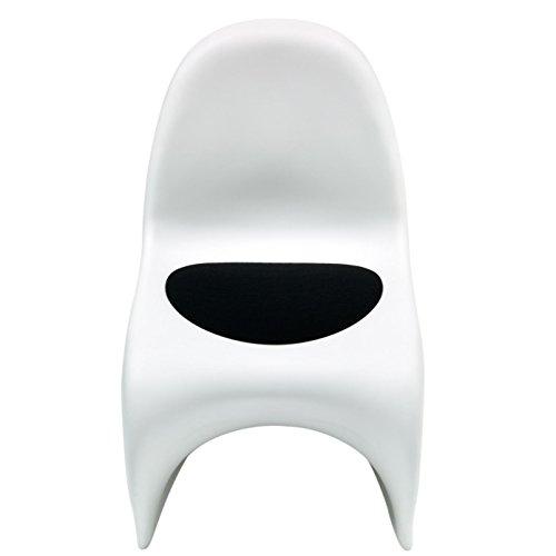 Sitzauflage - Filzauflage Vitra Panton Chair Schwarz Hey Sign