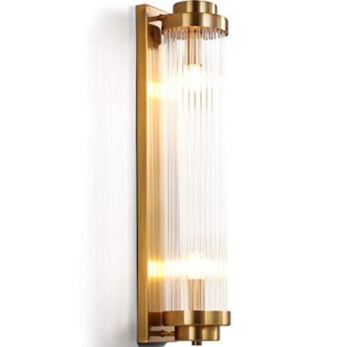Europäische Luxus Wandleuchte, Einfache Kreative Lichtfarbe Spalte Persönlichkeit Hause Lampe, Indoor Wohnzimmer Schlafzimmer Korridor Schlafzimmer Nachttischlampe -