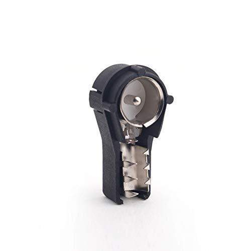 Ogquaton Hochwertiger Autoradio-Stereo-ISO-Crimp-Antennenstecker für die Konvertierung blanker Drähte Iso-stereo
