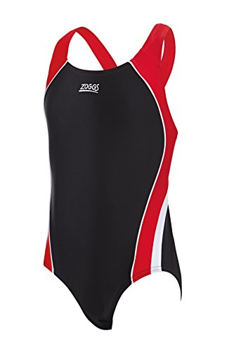 zoggs-girls-noosa-fly-back-swimsuit-black-red-white-10-11-years